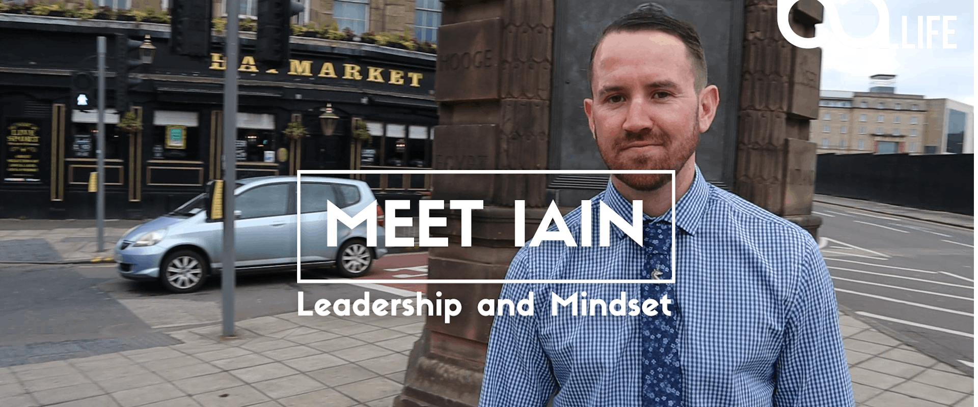 Meet Iain: Leadership and Mentality