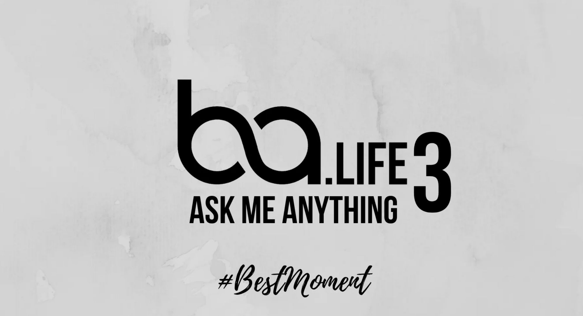 BA Ask Me Anything #BestMomentSoFar