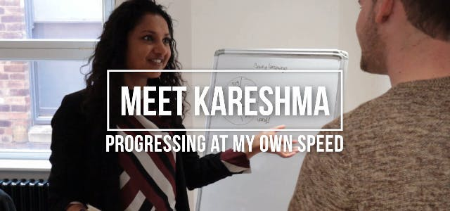 Meet Kareshma: Growing at my own pace!