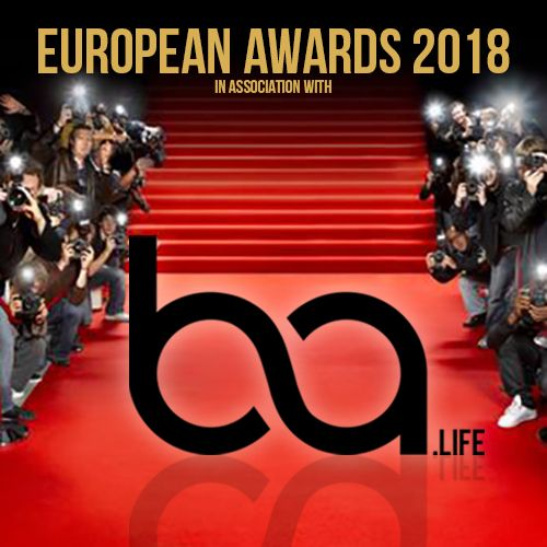 EUROPEAN AWARDS 2018 - PARIS