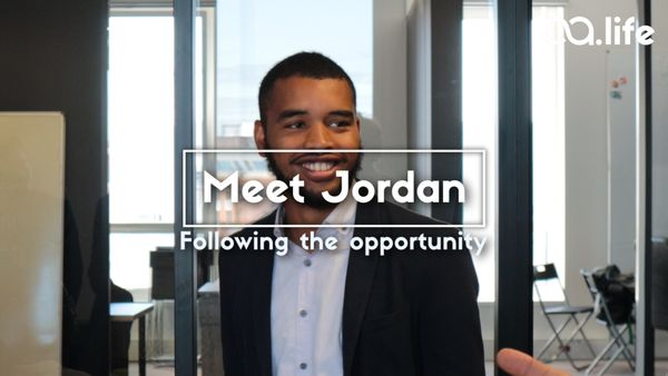 Meet Jordan: Following the opportunity