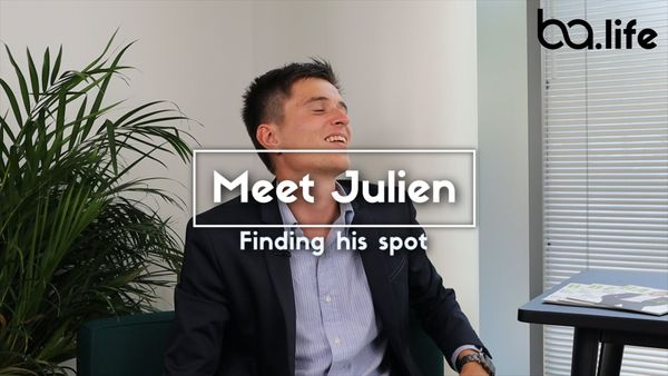 Meet Julien: Finding his spot