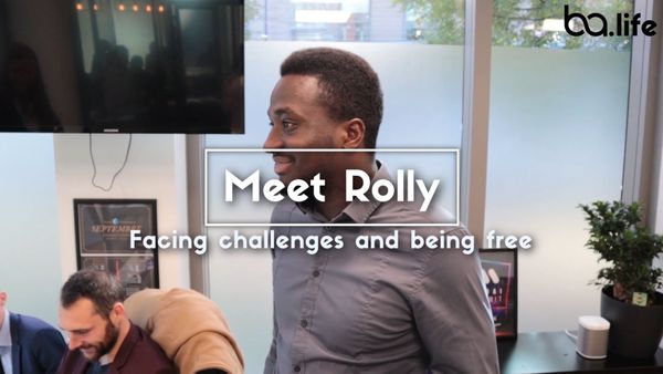 Meet Rolly: Facing challenges and being free