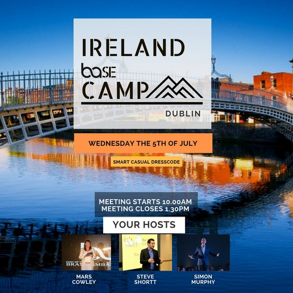 IRISH SUMMER BASE CAMP