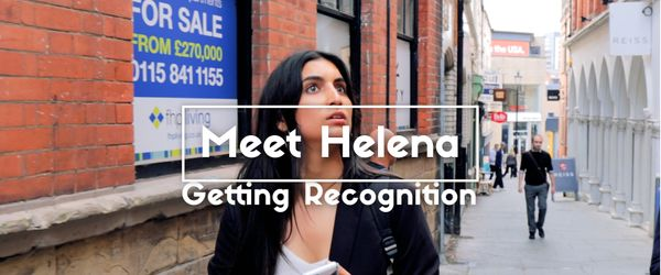 Meet Helena: Getting Recognition