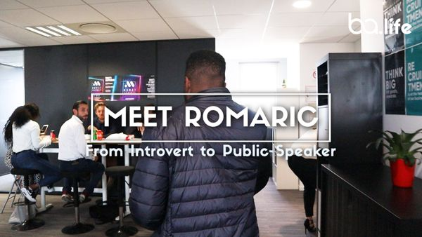 Meet Romaric: From Introvert to Public Speaker