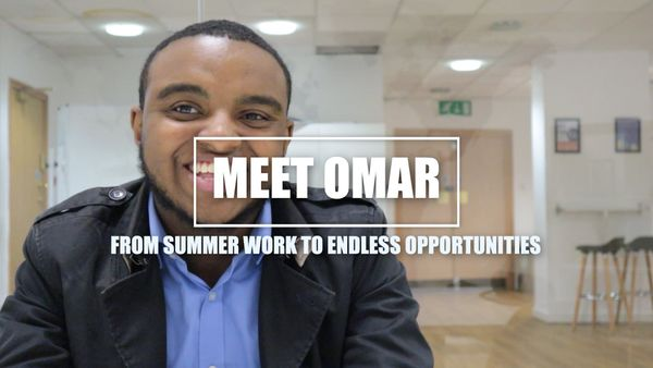 Meet Omar: From Summer Work to Endless Opportunities