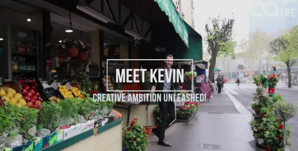 Meet Kevin - Creative ambition unleashed