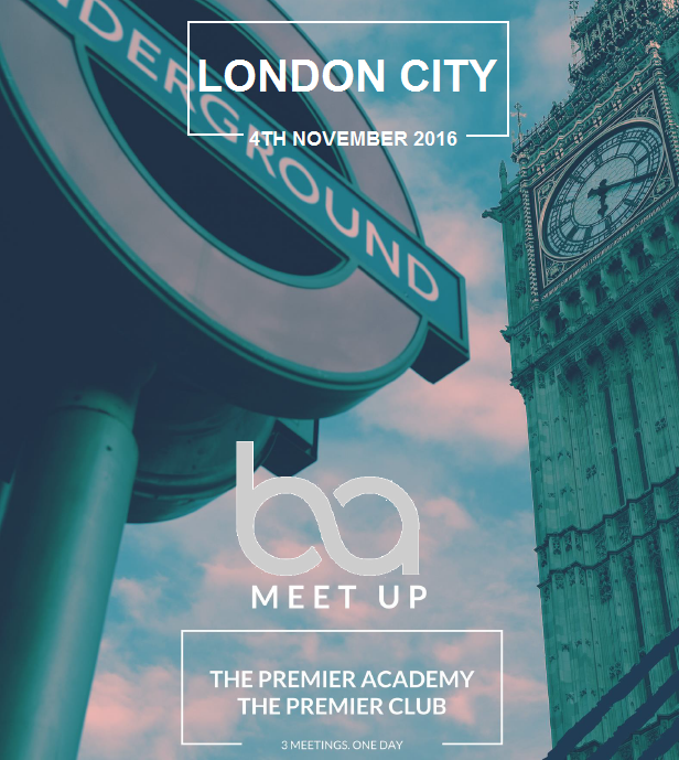 LONDON BRAND AMBASSADOR MEETUP