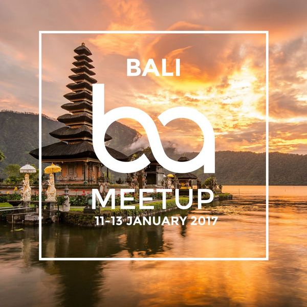 BA MEET UP BALI
