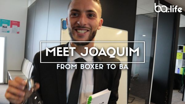 Meet Joaquim: From Boxer to BA