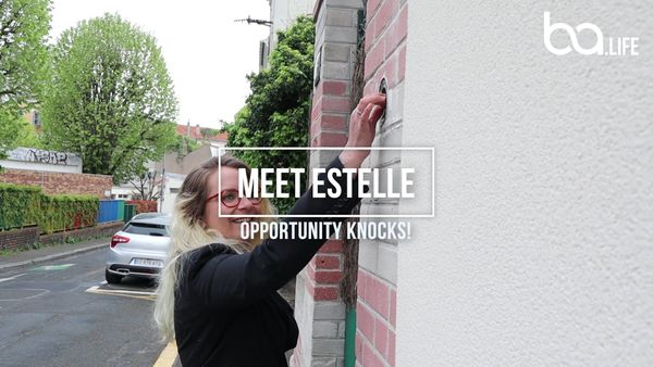 Meet Estelle: Opportunity Knocks